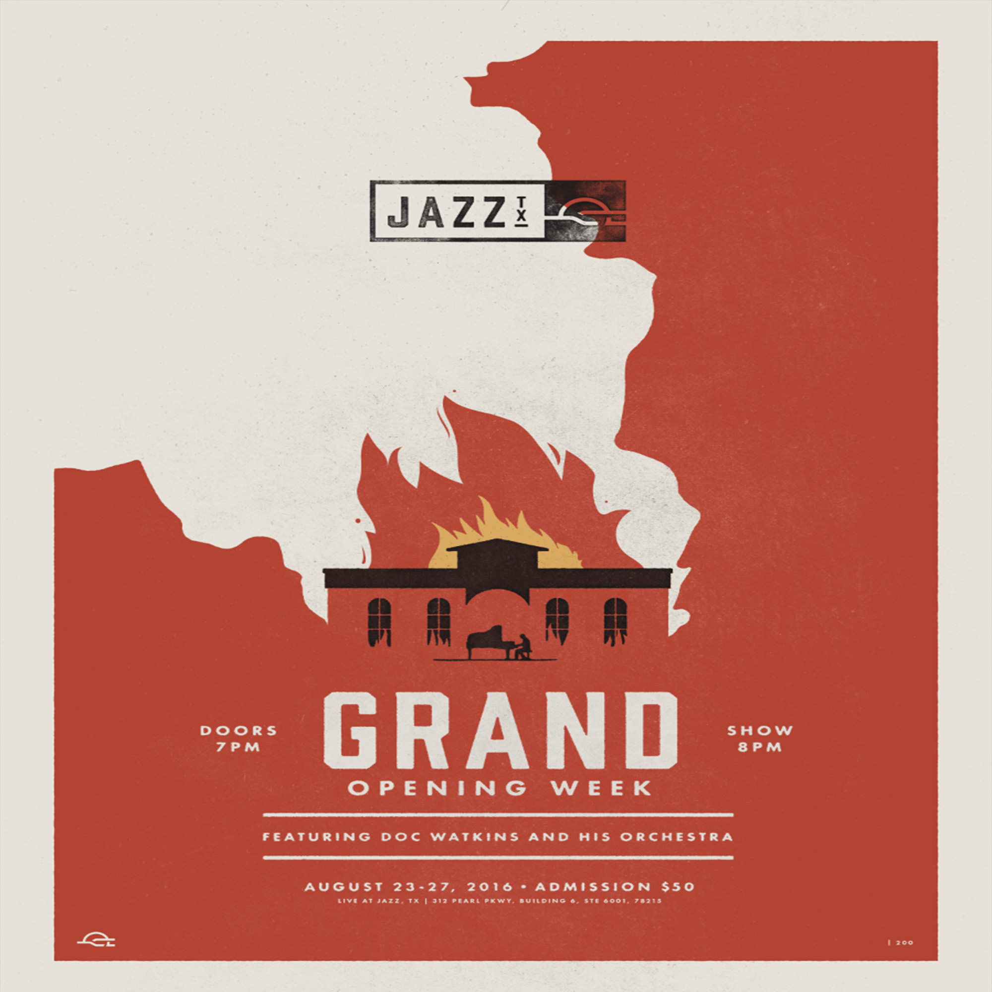 jazz tx grand opening poster limited quantity jazz tx